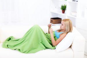 תסמין לאלרגיה – חום גוף גבוה